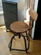 Chaise d'atelier industriel Non réglable -80€